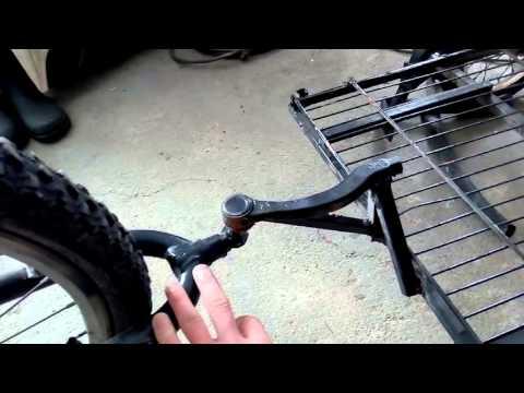 Прицеп, телега к велосипеду