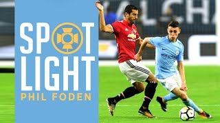 PHIL FODEN DEBUT | Every Touch vs Manchester United | Man City 0 2 Man United