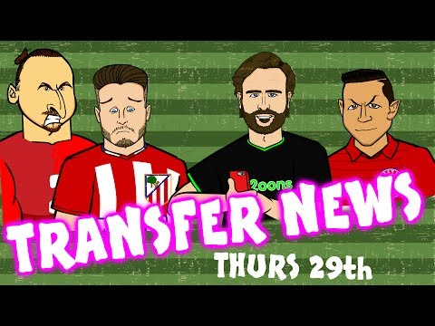 TRANSFER NEWS #9! Zlatan to Atleit? Sanchez to Bayern? Danilo to Juve?