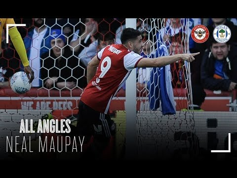 Neal Maupay's First Goal from Every Angle thumbnail