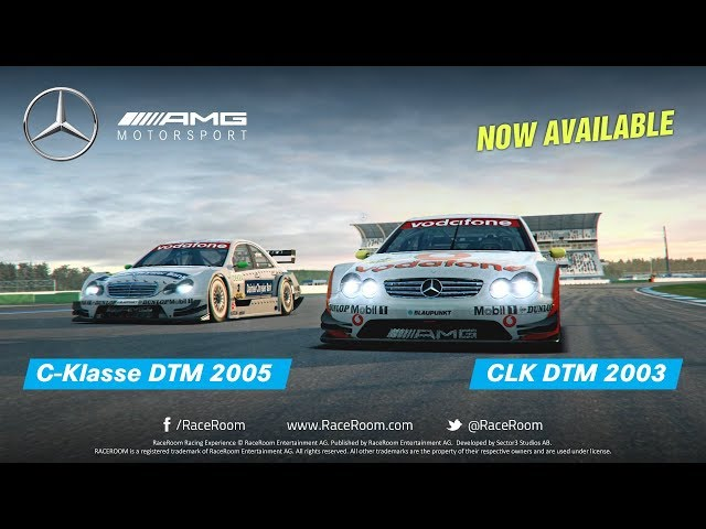 Two DTM Legends are joining RaceRoom