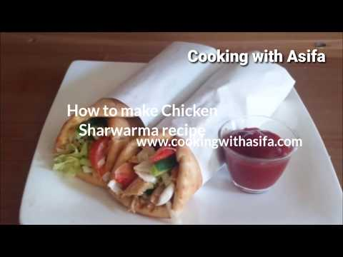 Chicken shawarma homemade restaurant style chicken shawarma chicken shawarma homemade restaurant style chicken shawarma snack recipe cooking with asifa forumfinder Image collections