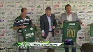 Palmeiras anuncia 3 reforços para 2016 !  | Jogo Aberto