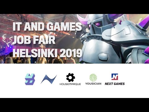 IT and Games Job Fair - St Petersburg for Talents - Games Factory