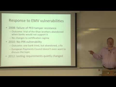 Prof. Ross Anderson  How can we recover from protocol failure  Technion lecture