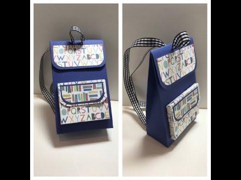 Mini Backpack Gift Bag