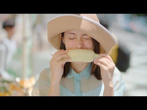 石原さとみ、生とうもろこしをガブリ! CMソングは「安藤裕子 feat. TOKU」が歌う 東京メトロ『Find my Tokyo.』CM「和光市 みずみずしい街」篇