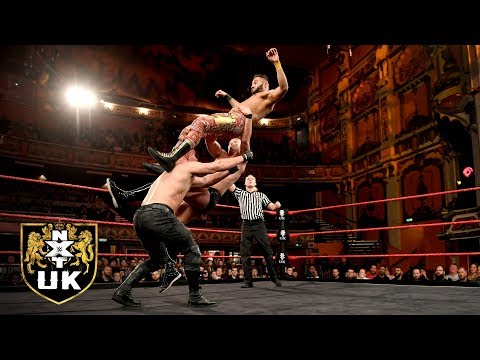 Kenny Williams & Amir Jordan vs. Marcel Barthel & Fabian Aichner: NXT UK, Jan. 2, 2019