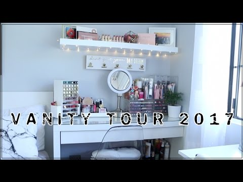 VANITY TOUR 2017 - STORAGE & ORGANIZATION | Twilightchic143