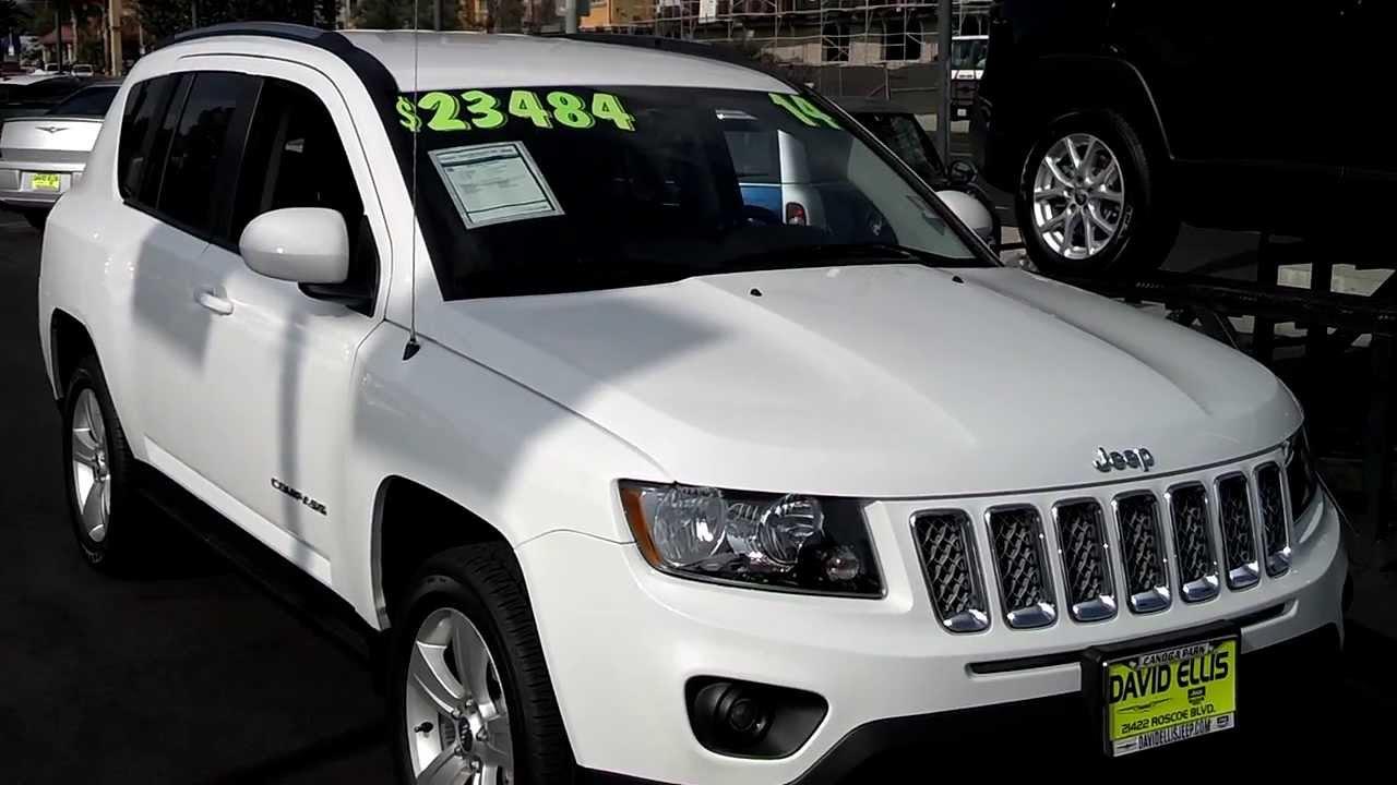 2014 Jeep Compass Latitude SUV For Sale Near Los Angeles