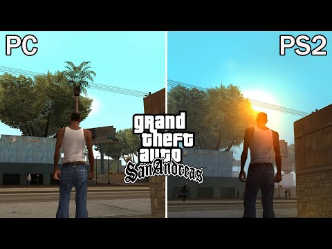 PERBEDAAN GTA SAN ANDREAS PC DAN PS2