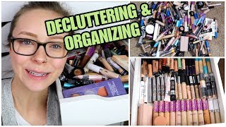 DECLUTTERING ALL MY CONCEALERS   Organizing Makeup