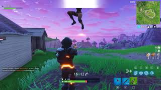 I try to have fun with a bambi on fortnite, it does not go as planned. Karma.