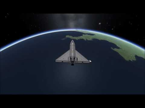 KSP Warp or Bust Ep 5 - Space Planes and Recycling