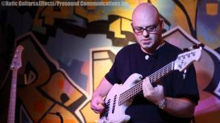 steve millhouse with xotic bass rc booster and bass bb preamp