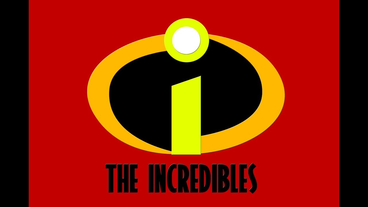how to draw the incredibles logo using photoshop youtube rh youtube com