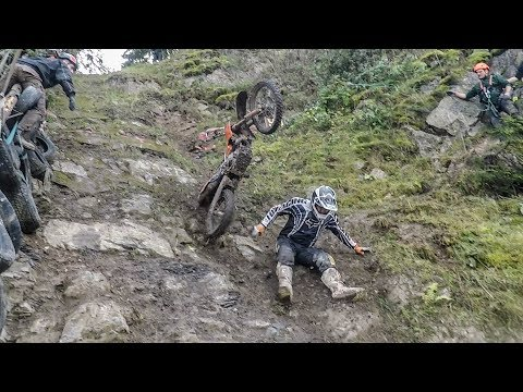 Impossible Climb and Debauchery – Andler / Schönberg Hillclimb motocross video