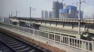 (HD)【中国の鉄道】河南省鄭州市の新鄭空港線に乗車