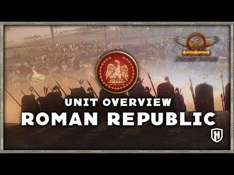 Faction Unit Overview | THE ROMAN REPUBLIC - Ancient Empires Mod