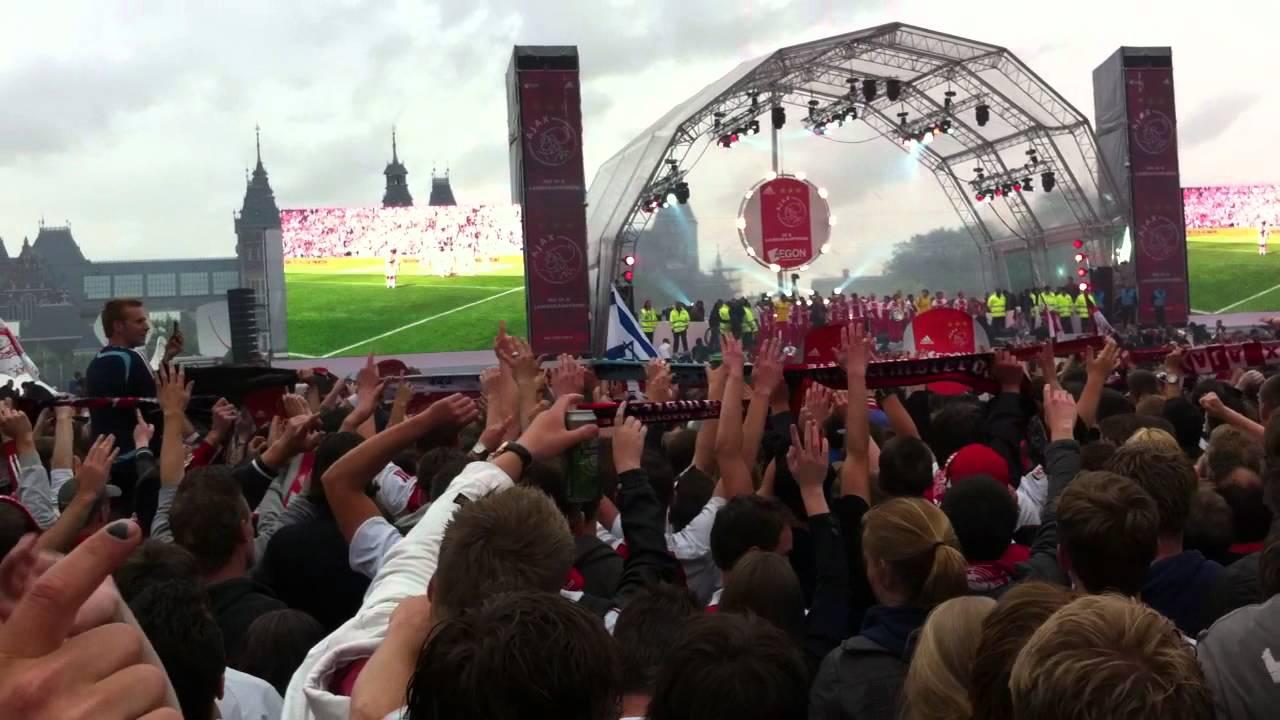 Ajax Kampioensfeest - Kees Prins - Dit is mijn club (live