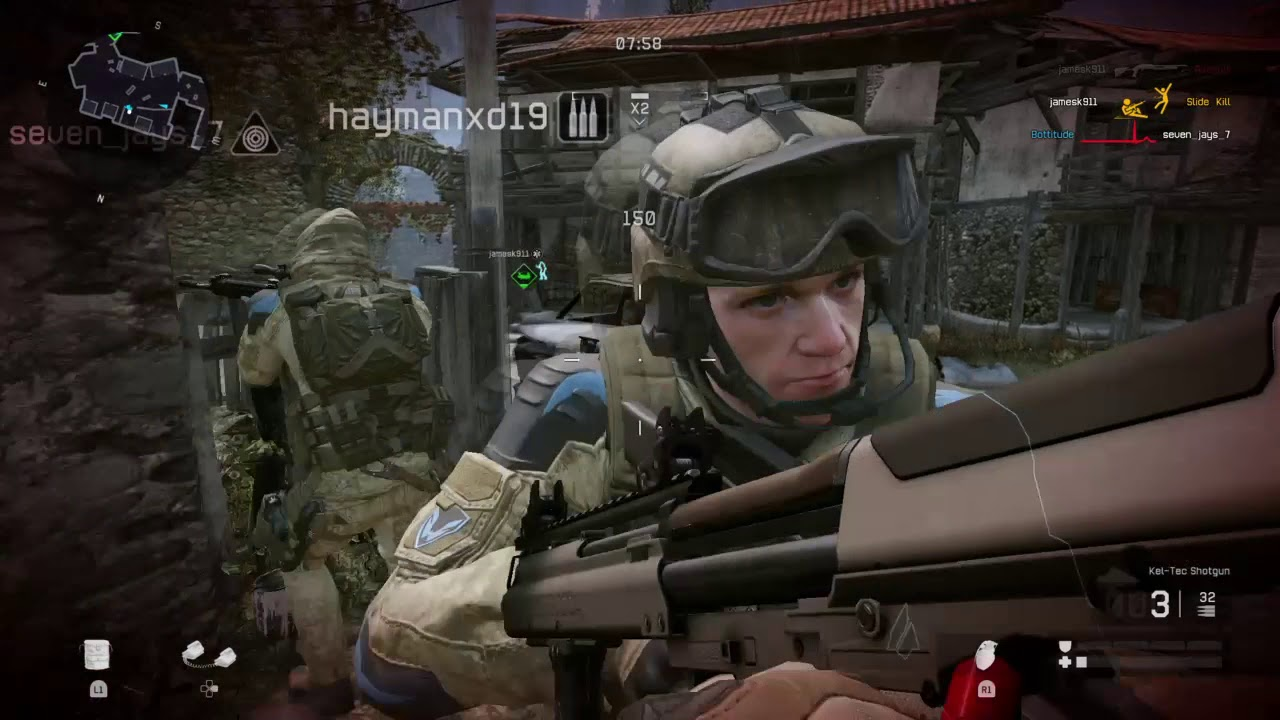 Warface PS4 Gameplay