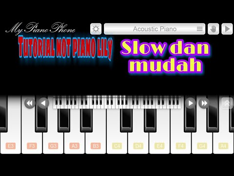 tutorial-not-piano-lagu-lily-alan-walker