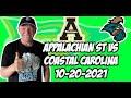 Appalachian State vs Coastal Carolina 10/20/21 Free College Football Picks and Predictions Week 8