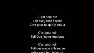 Karaoké Céline Dion C'est pour toi (sans choeurs)
