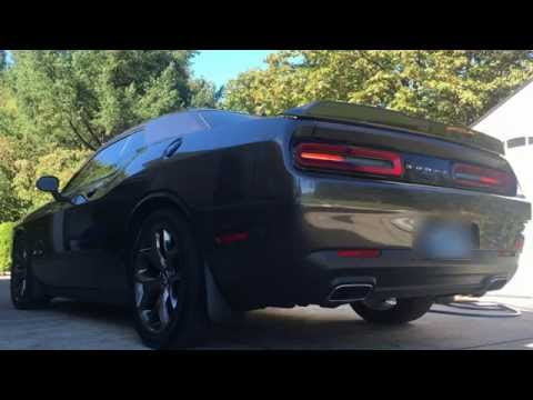 Dodge Challenger SXT: Solo Performance Exhaust vs. Stock