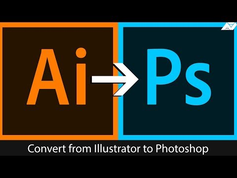 Convert From Illustrator To Photoshop