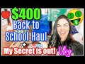 2021 BACK TO SCHOOL SUPPLY HAUL   MY HUGE BUSINESS ANNOUNCEMENT! HUGE SNACK HAUL! SARAH'S WIFESTYLE