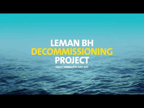Veolia UK | Leman BH Decommissioning project - Great Yarmouth, July 2017
