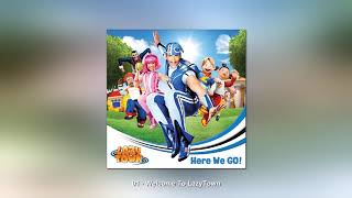01 LazyTown CD Australia 2013 Here We Go Welcome To LazyTown