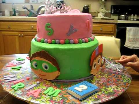 Super Why Cake Youtube