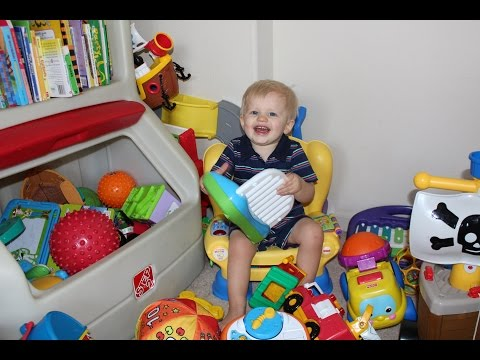 Michael's Toy Room Tour
