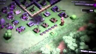 geek man dans clash of clans #1attack de farm ( la vrai )