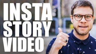 🎬Instagram Videos erstellen - Insta Story Video ft. Sebastian 🎬 | #FragDenDan