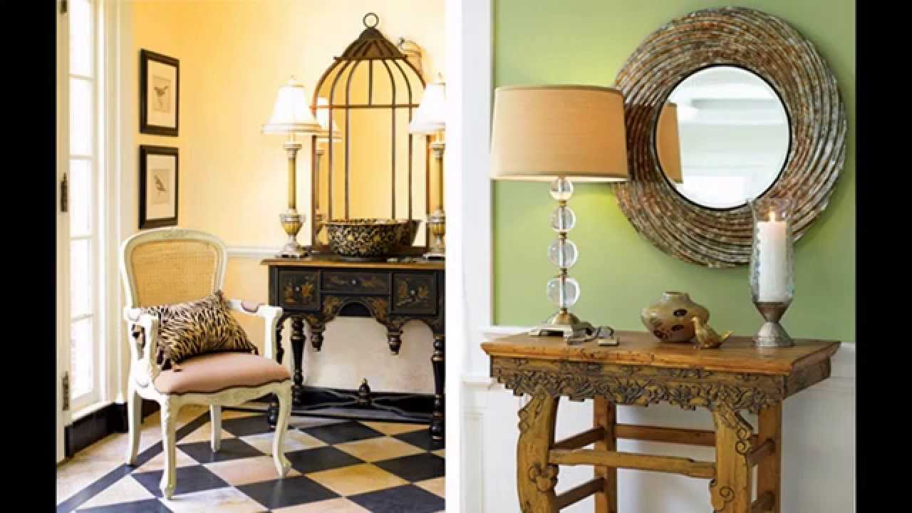 Great entryway decorating ideas youtube for Great home decor ideas