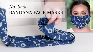 How To Turn A Bandana Into A Face Mask For Coronavirus