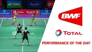performance of the day   badminton day 4 grp 1c japan vs malaysia total bwf sudirman cup 2017
