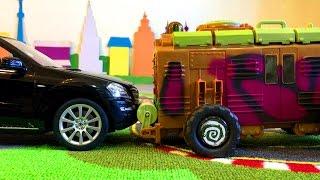 Черепашки Ниндзя и Крутая Машина Мультики про Машинки Игрушки
