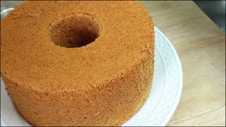 Orange Chiffon Cake (香橙戚风蛋糕) **