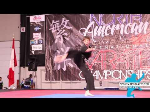 Aaron Bailey - Musical Form - 2015 North American Int'l Karate Championships