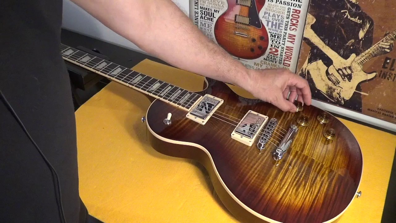 my guitar collection 2017 usa gibson les paul standard t unboxing review not from sam ash miami. Black Bedroom Furniture Sets. Home Design Ideas
