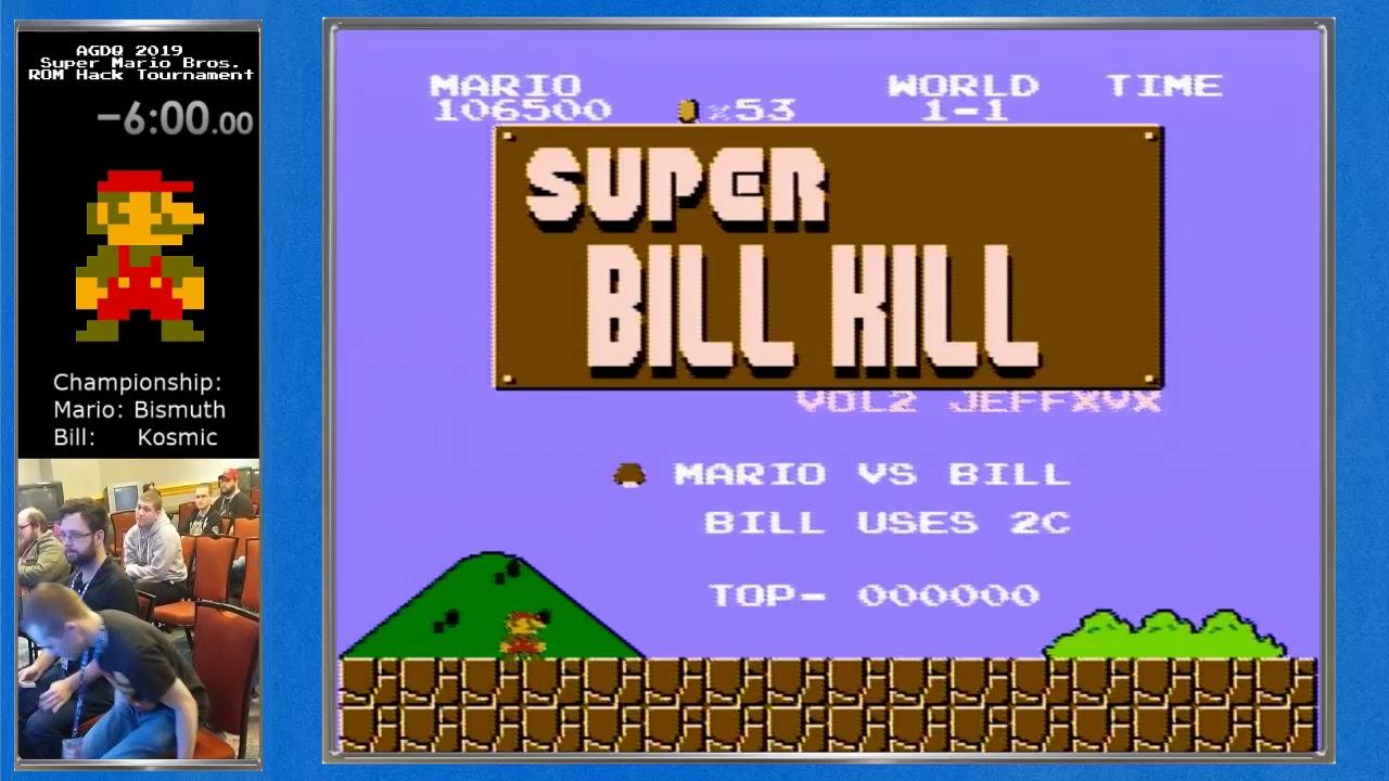 AGDQ 2019 Super Mario Bros  ROM Hack Championship