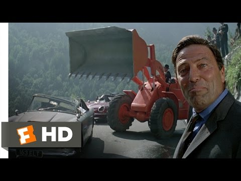 The Italian Job (4/10) Movie CLIP - Wrecking the Aston Martin (1969) HD