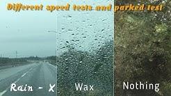 Rain-X vs Wax - Which is Best??
