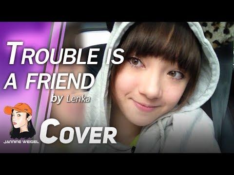 Trouble Is A Friend - Lenka Cover By 13 Y/o Jannine Weigel (พลอยชมพู)