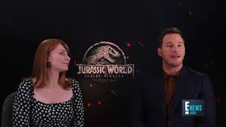 Chris Pratt & Bryce Dallas Howard Talks Jurassic World: Fallen Kingdom | E! News Asia