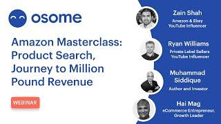 Amazon Masterclass: Product Search, Journey to Million Pound Revenue